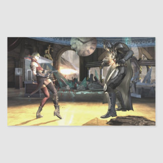 Captura de pantalla Harley contra Batman 2 Etiqueta