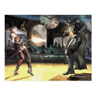 Captura de pantalla: Harley contra Batman 2 Postal