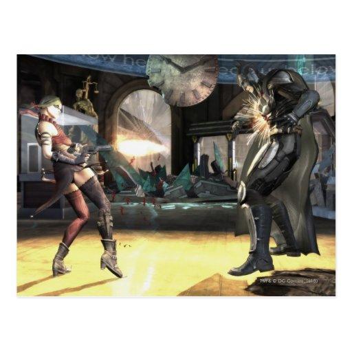 Captura de pantalla: Harley contra Batman 2 Tarjetas Postales
