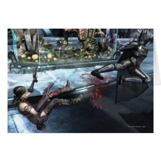 Captura de pantalla: Harley contra Batman Felicitación