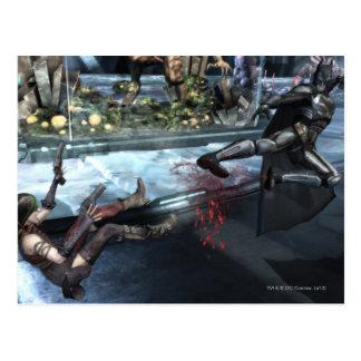 Captura de pantalla: Harley contra Batman Tarjetas Postales