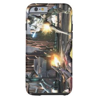 Captura de pantalla Harley contra Nightwing Funda De iPhone 6 Shell