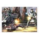 """Captura de pantalla: Harley contra Nightwing Invitación 5"""" X 7"""""""