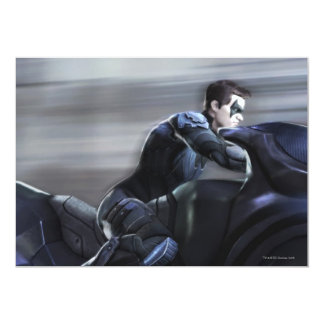 Captura de pantalla: Nightwing 2 Invitación 12,7 X 17,8 Cm