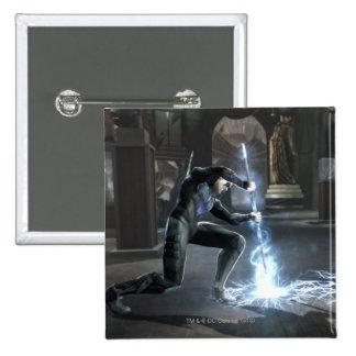 Captura de pantalla Nightwing contra flash Pins