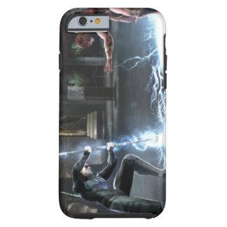 Captura de pantalla Nightwing contra flash Funda De iPhone 6 Shell