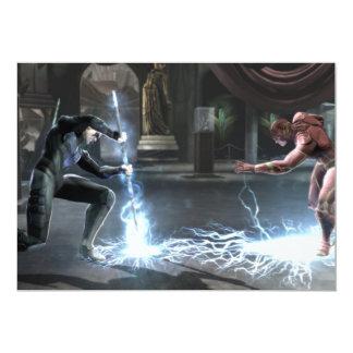 Captura de pantalla: Nightwing contra flash Invitación 12,7 X 17,8 Cm