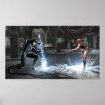 Captura de pantalla: Nightwing contra flash Posters
