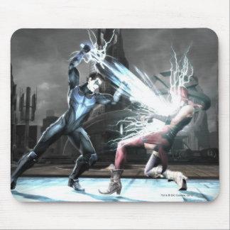 Captura de pantalla: Nightwing contra harley Alfombrilla De Raton