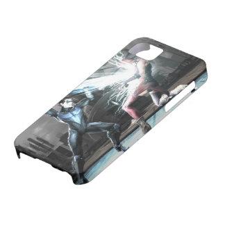 Captura de pantalla Nightwing contra harley iPhone 5 Protector