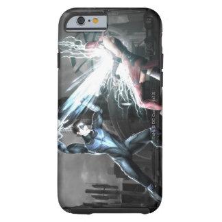 Captura de pantalla Nightwing contra harley Funda De iPhone 6 Shell