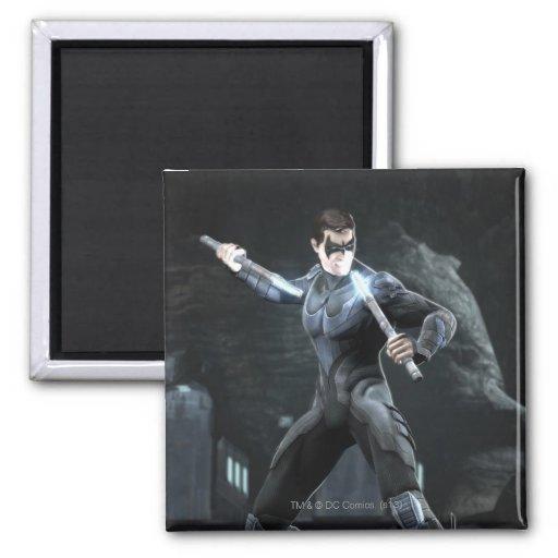 Captura de pantalla: Nightwing Imán Cuadrado