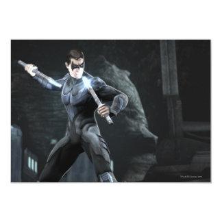 Captura de pantalla: Nightwing Invitación 12,7 X 17,8 Cm