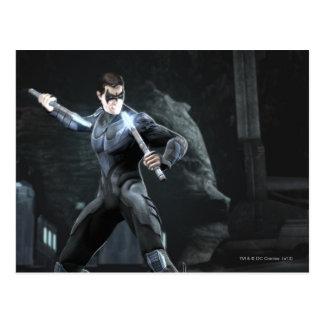 Captura de pantalla: Nightwing Tarjeta Postal