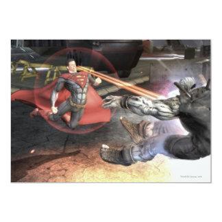 Captura de pantalla: Superhombre contra Batman 2 Invitación 12,7 X 17,8 Cm