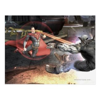 Captura de pantalla: Superhombre contra Batman 2 Tarjeta Postal