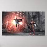 Captura de pantalla: Superhombre contra flash Posters