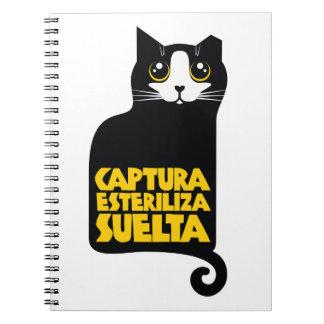 Captura del animalista de Libreta, esteriliza, Notebook