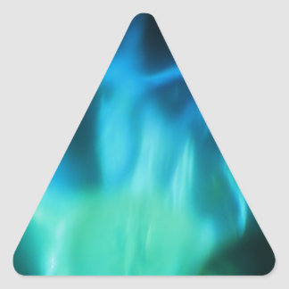 Captura del demonio pegatina triangular