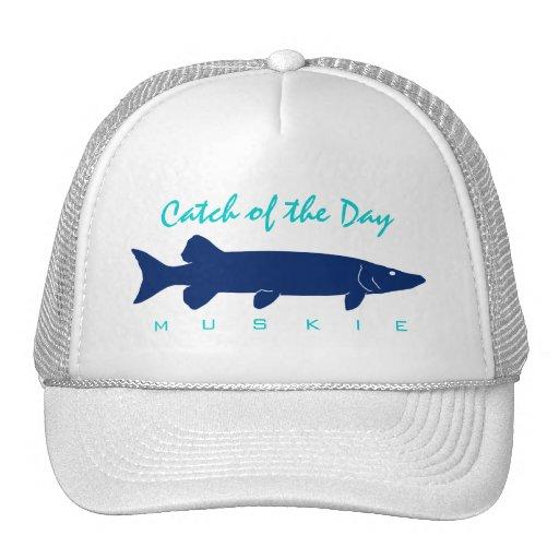 Captura del día - gorra de la pesca de Muskie