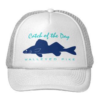 Captura del día - gorra de la pesca de Pike Walley