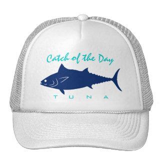 Captura del día - gorra de la pesca del atún