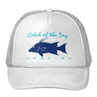 Captura del día - gorra de la pesca del Hogfish