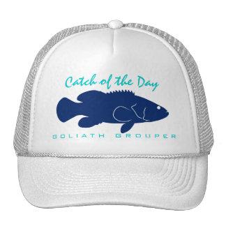 Captura del día - gorra de la pesca del mero de Go