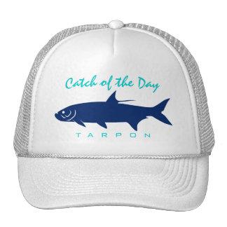 Captura del día - gorra de la pesca del tarpón
