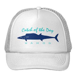 Captura del día - gorra de la pesca del Wahoo