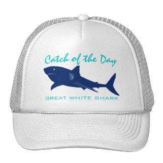 Captura del día - gran gorra de la pesca del tibur