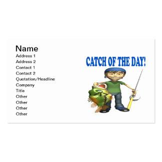 Captura del día tarjetas de visita