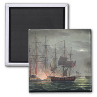 Captura del La Desiree, el 7 de julio de 1800, 'de Imán Cuadrado