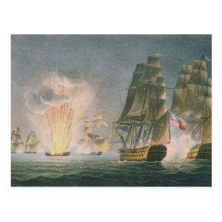 Captura del Rivoli, el 22 de febrero de 1812, Postal