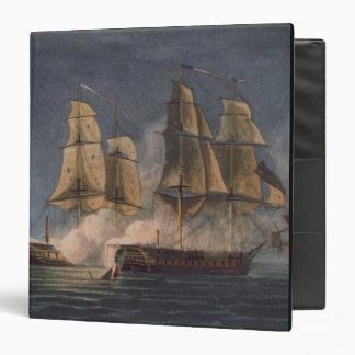 """Captura del Thetis por amatista del HMS, 10mo Carpeta 1 1/2"""""""