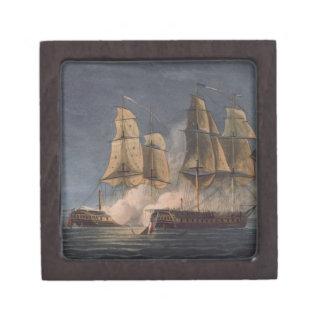 Captura del Thetis por amatista del HMS, 10mo Nove Cajas De Recuerdo De Calidad