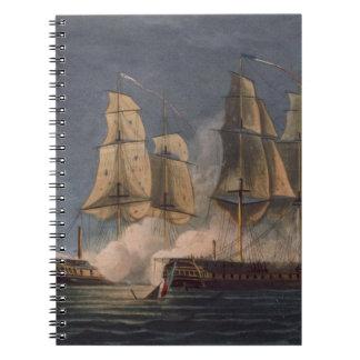 Captura del Thetis por amatista del HMS, 10mo Nove Libros De Apuntes