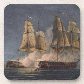 Captura del Thetis por amatista del HMS, 10mo Nove Posavasos