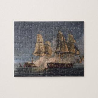 Captura del Thetis por amatista del HMS, 10mo Nove Puzzle Con Fotos