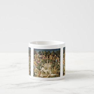 Captura del unicornio blanco taza espresso