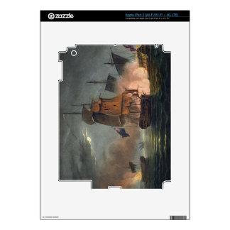 Captura del Zaffer de Badere, el 6 de julio de 180 iPad 3 Pegatina Skin