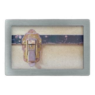 Captura gastada en las hebillas del cinturón del hebilla cinturon rectangular