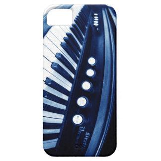 Captura V2 el ritmo - el vintage cierra el azul Funda Para iPhone SE/5/5s