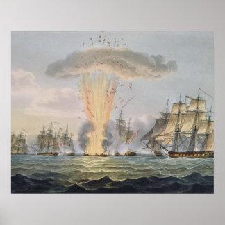 Captura y destrucción de cuatro fragatas españolas posters