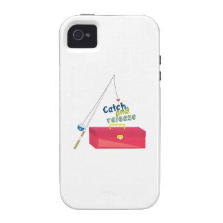 Captura y lanzamiento Case-Mate iPhone 4 carcasa