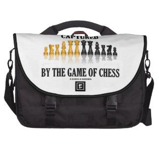 Capturado por The Game del juego de ajedrez reflex Bolsas Para Ordenador