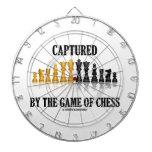 Capturado por The Game del juego de ajedrez reflex Tablero Dardos