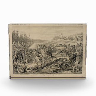 Capture and Death of Sitting Bull December 15 1890 Acrylic Award