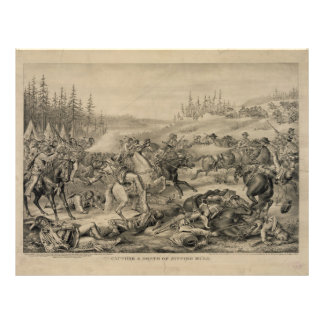 Capture and Death of Sitting Bull December 15 1890 Letterhead