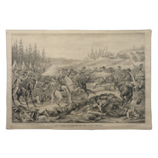 Capture and Death of Sitting Bull December 15 1890 Placemat